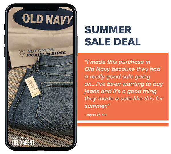 Summer Sale Deal - Old Navy
