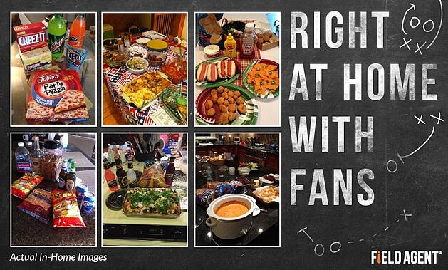 Right At Home With Fans Agent Photos