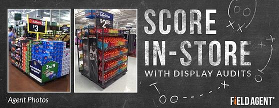 Score In-Store With Display Audits Agent Photo