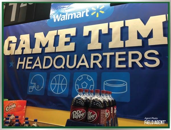 Walmart Game Time HeadQuarters