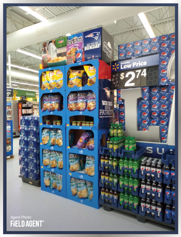Super Bowl Displays Agent Photo Lays Chips Tostitos