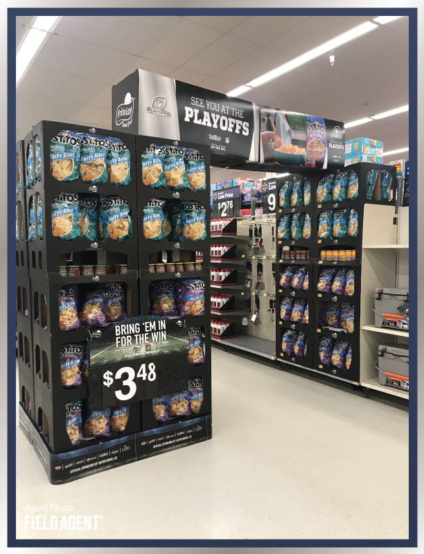 Super Bowl Display Agent Photo Tostitos Chips