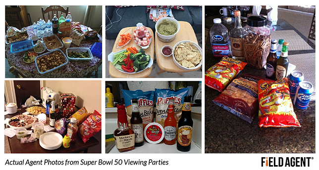 Actual Agent Photos from Super Bowl 50 Viewing Parties