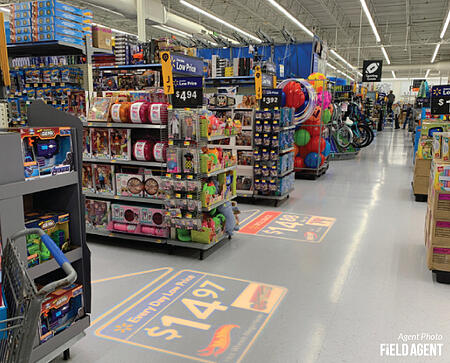 Walmart LED Ads - Agent Photo