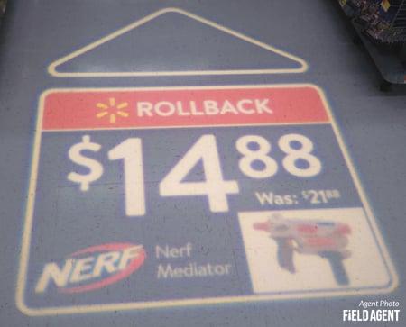 Walmart LED Ads - Agent Photo
