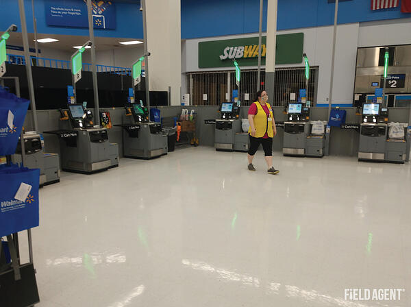 Walmart Self-Checkout Store Agent Photo 5