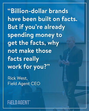 Rick West Field Agent CEO Quote