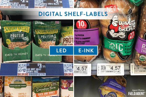 Walmart Digital Shelf Labels - LED vs E-INK
