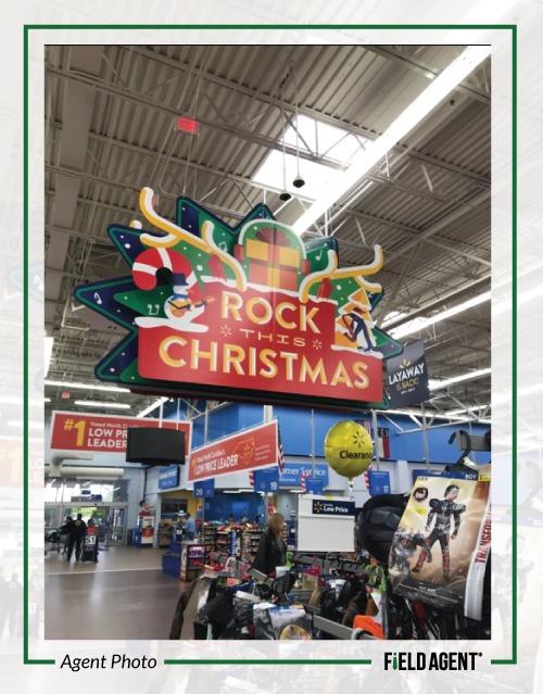 Walmart Toys that Rock Display