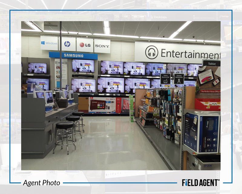 Before & After: Photos of Walmart\'s Updated Electronics Department