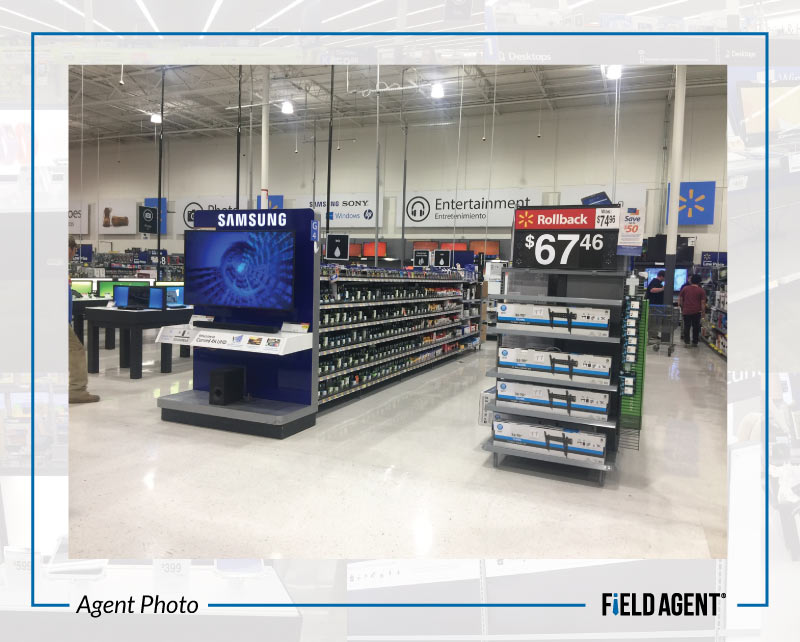 Agent Photo - Walmart Updated Electronics
