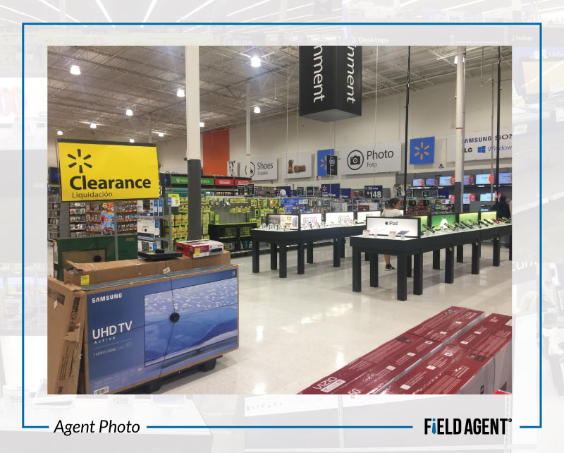Agent Photo - Walmart's Updated Electronics