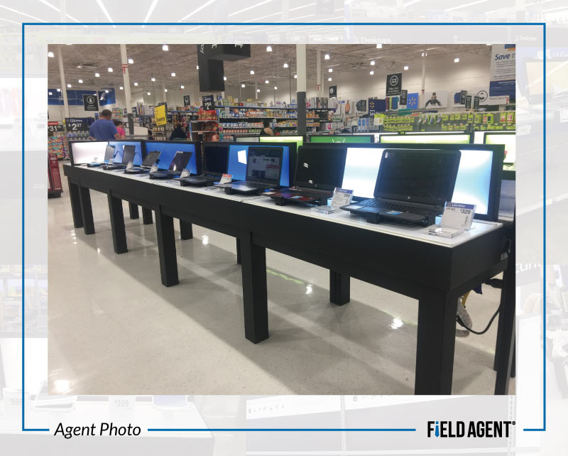 Agent Photos - Walmart's Updated Electronics