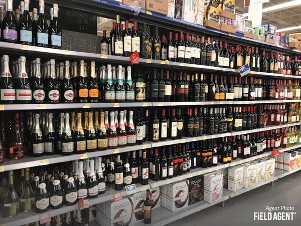 Walmart Private Label Wines Agent Photo