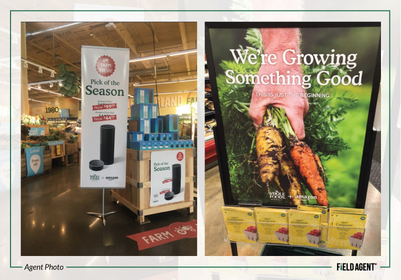 Whole Foods Amazon Signage
