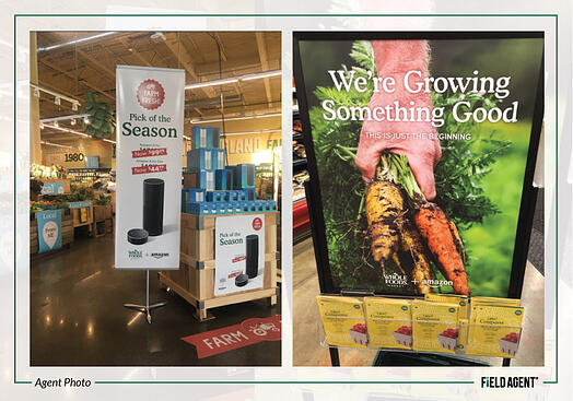 Whole Foods Amazon Signage
