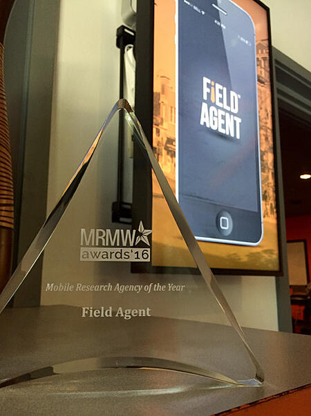 MRMW Award - Mobile Research Agency of the Year