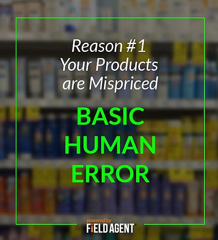 Reason #1 Your Products are Mispriced - Basic Human Error