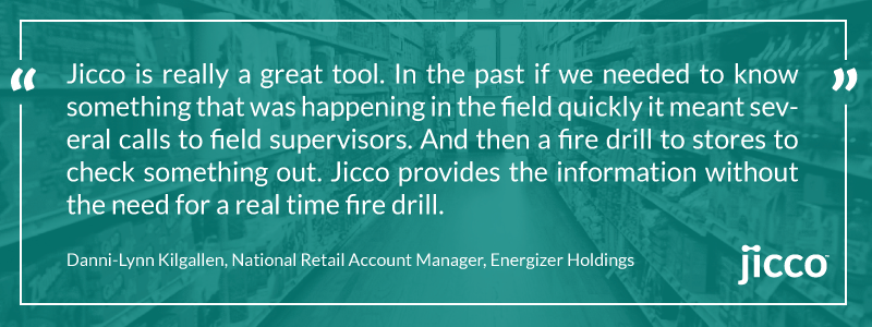 Jicco Testimonial by Danni-Lynn Kilgallen, National Retail Account Manager, Energizer Holdings