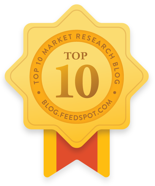 Feedspot Market Research Blog Award