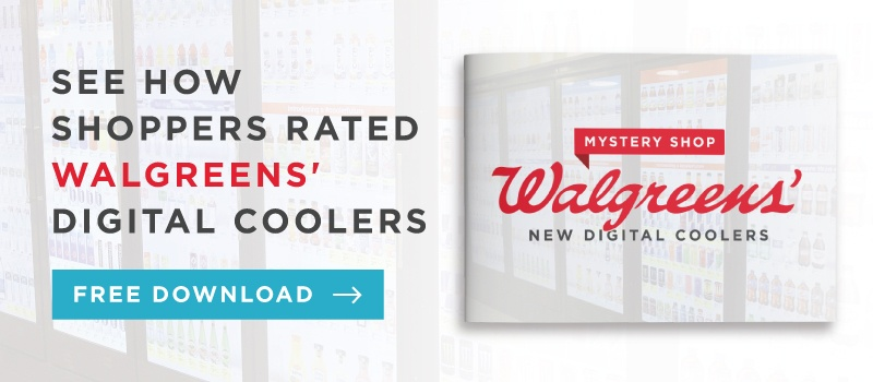 Walgreen's New Digital Coolers: Mystery Shop Report