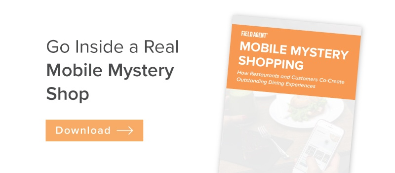 Mobile Mystery Shopping: Report Download