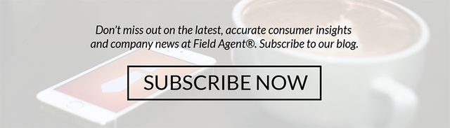 Don't miss out on the latest, accurate consumer insights and company news at Field Agent.