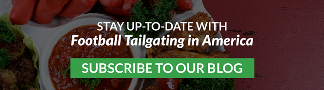 Coming soon: Football Tailgating in America - Subscribe to our blog