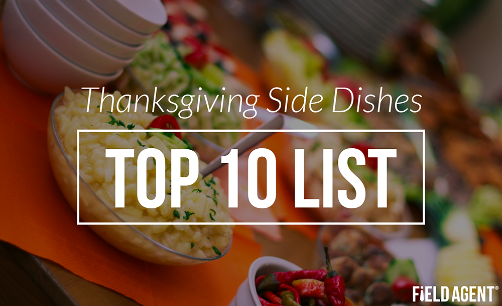 Thanksgiving Side Dishes: Top 10 List