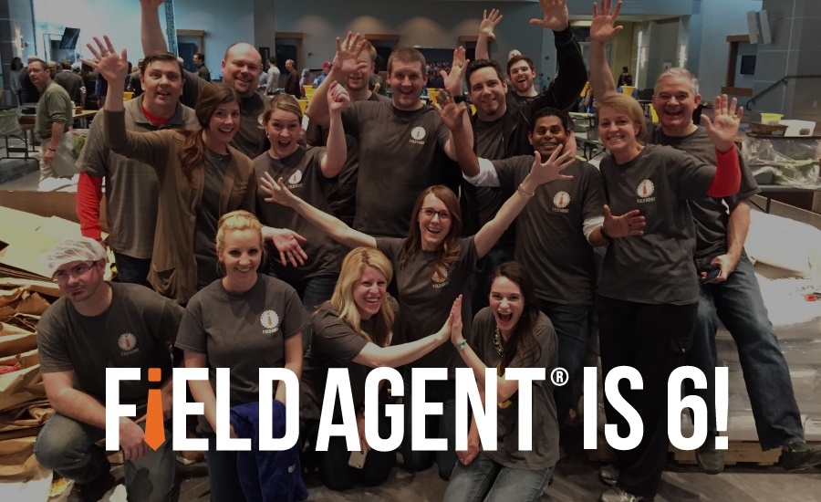 Field Agent celebrates 6 Years