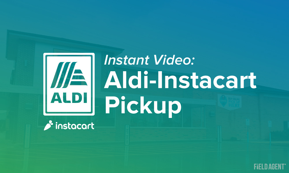 Instant Video: Shoppers Try the New Aldi-Instacart Pickup