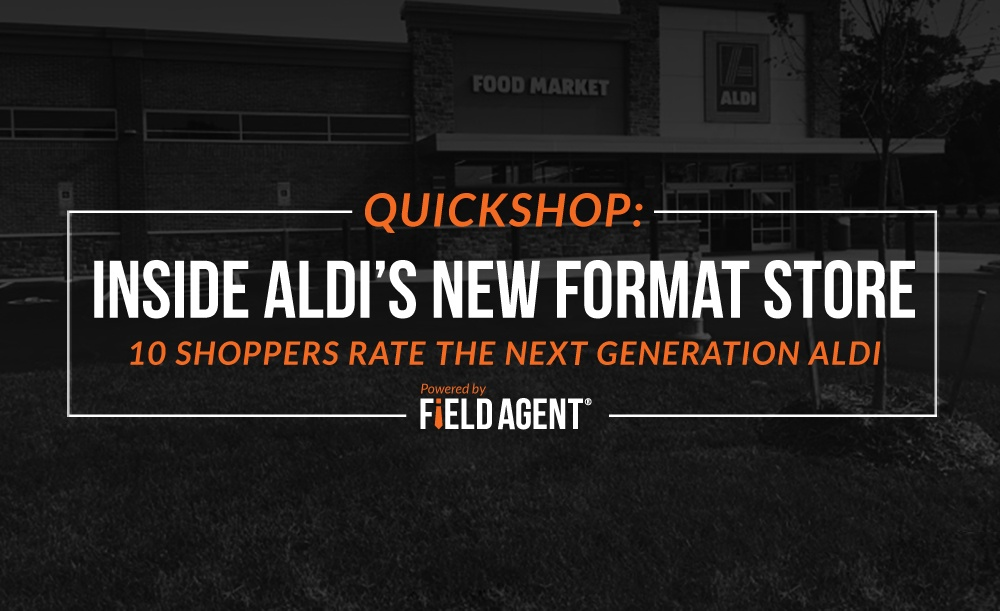 QuickShop: 10 Shoppers Rate Aldi's Next Generation Store [Video]