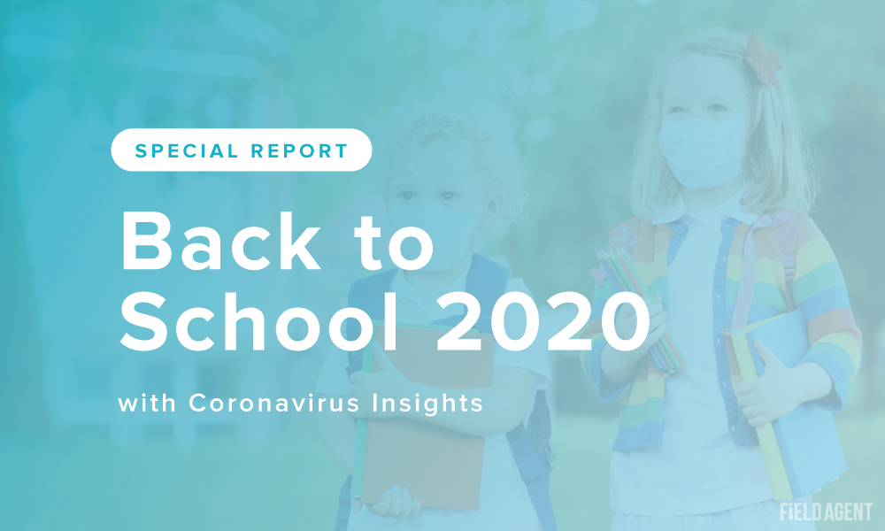 Special Report: Back to School 2020 [with Coronavirus Insights]