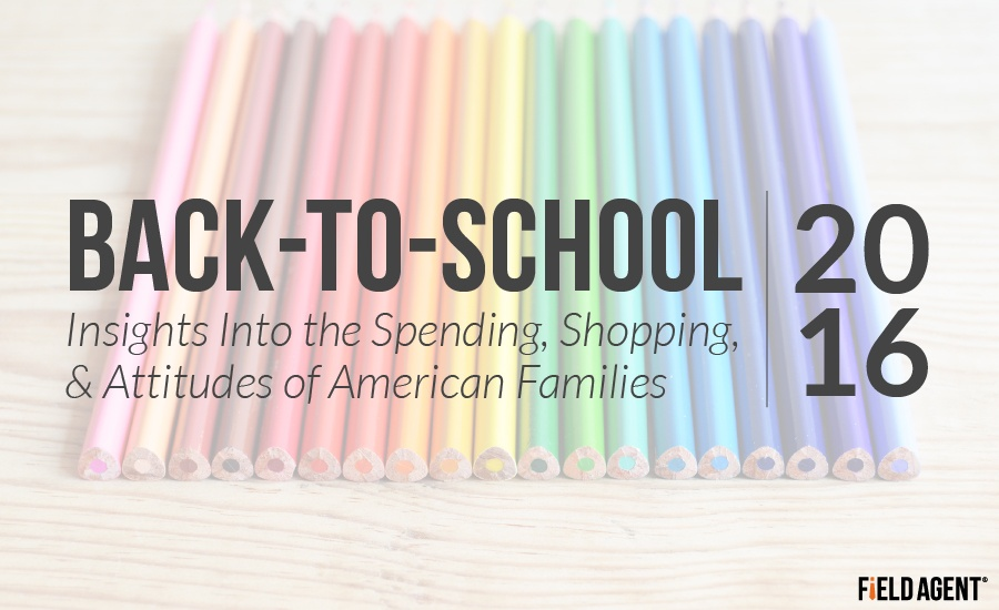 Back-To-School Insights Into the Spending, Shopping, & Attitudes of American Families 2016