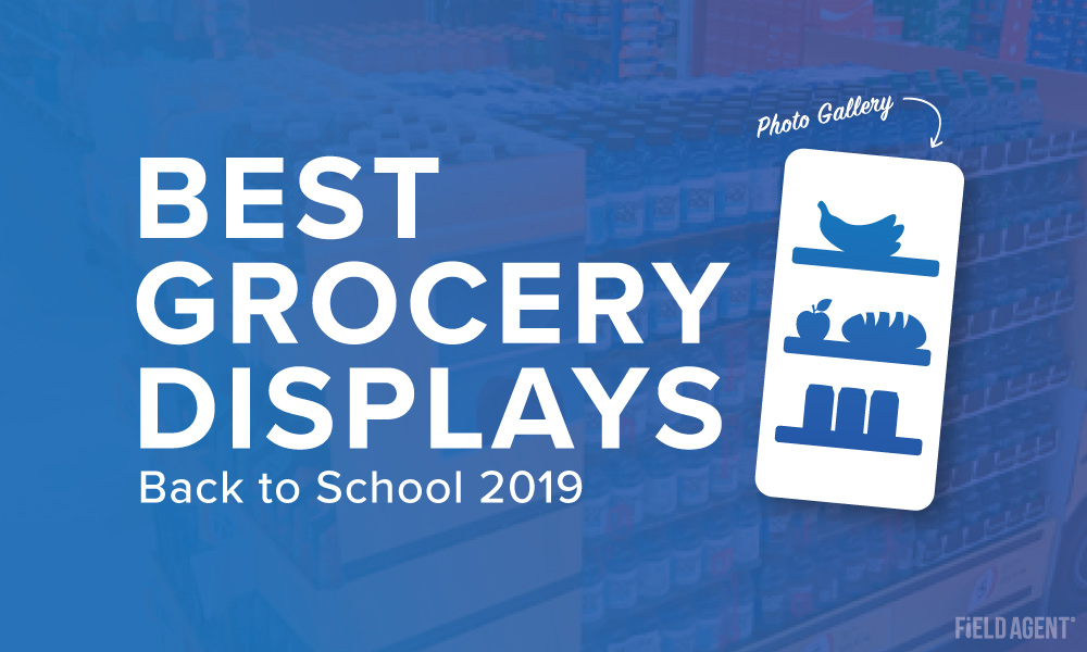 Photo Gallery: The A+ Grocery Product-Displays of Back-to-School 2019