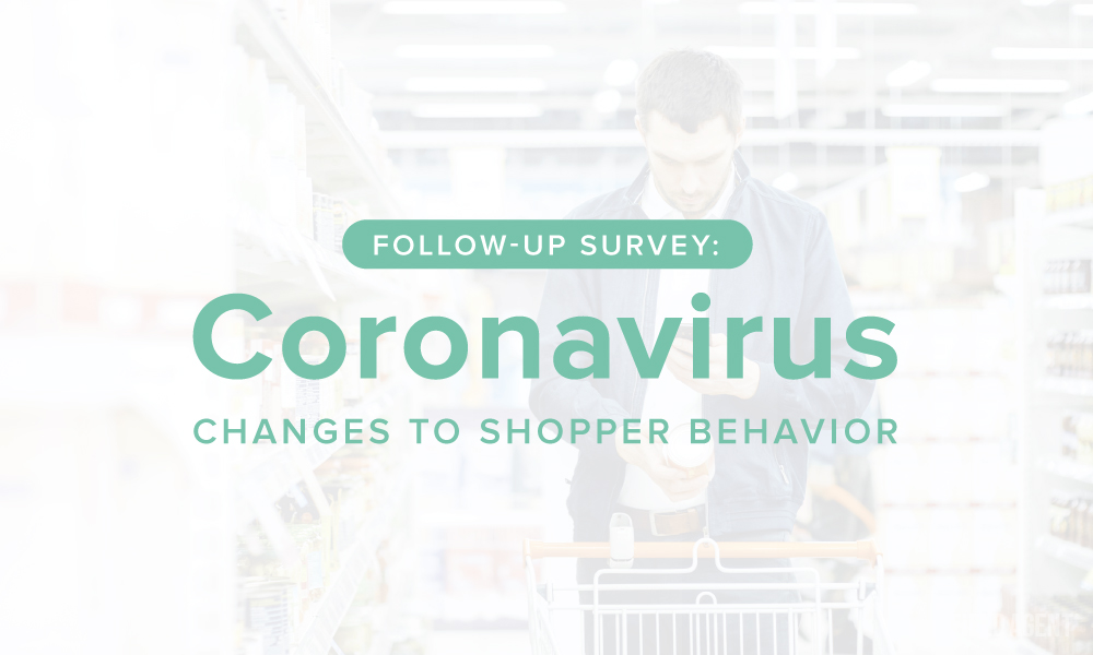 Follow-Up Survey: How is COVID-19 Changing Shopper Behavior?