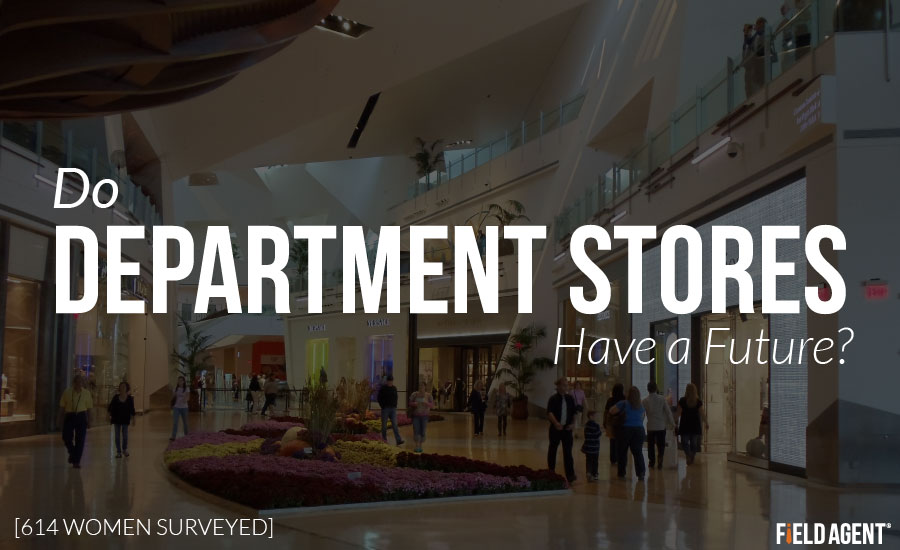 Do Department Stores have a Future? 614 Women Surveyed