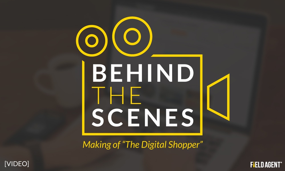 Behind the Scenes: Making of The Digital Shopper [VIDEO]