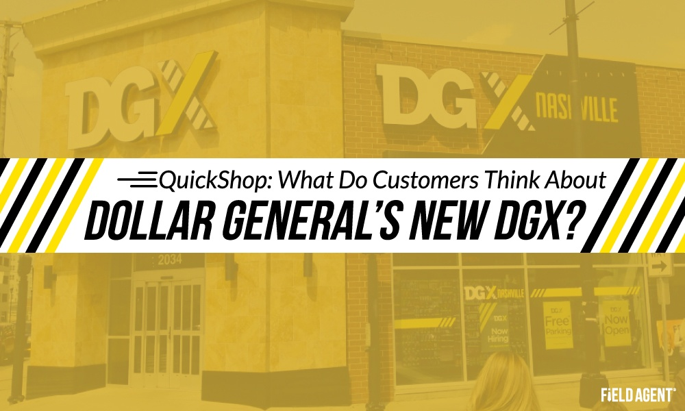Quickshop: What Do Customers Think about Dollar General's New DGX?