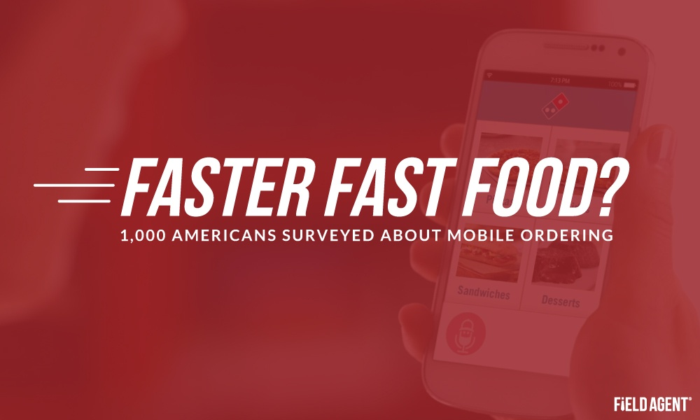 Faster Fast Food? 1,000 Americans Surveyed About Mobile Ordering