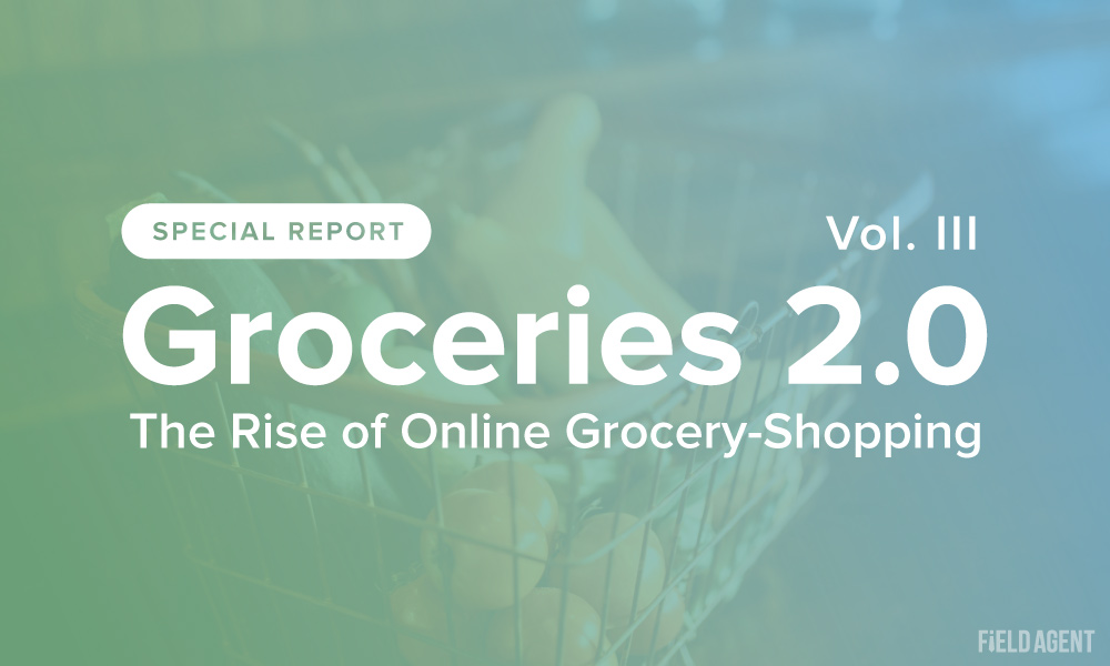 Report: Groceries 2.0, Vol. 3, The Rise of Online Grocery Shopping