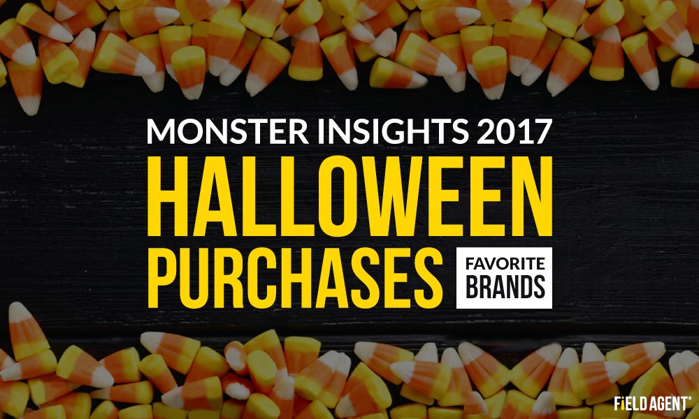 Monster Insights 2017: Halloween Shoppers' Purchases, Favorite Brands