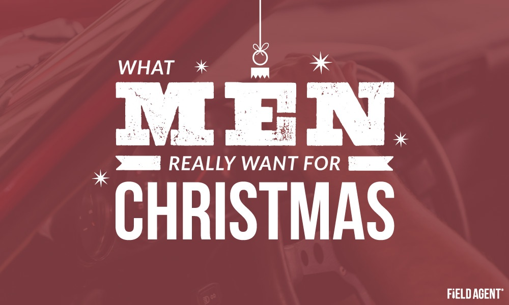Gift Wishes 2017: What Men Really Want for Christmas