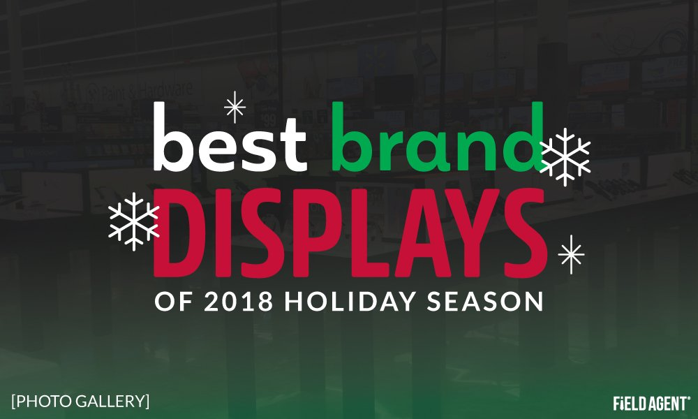 Store Look-Around: Best Brand Displays, Signs of 2018 Holiday Season