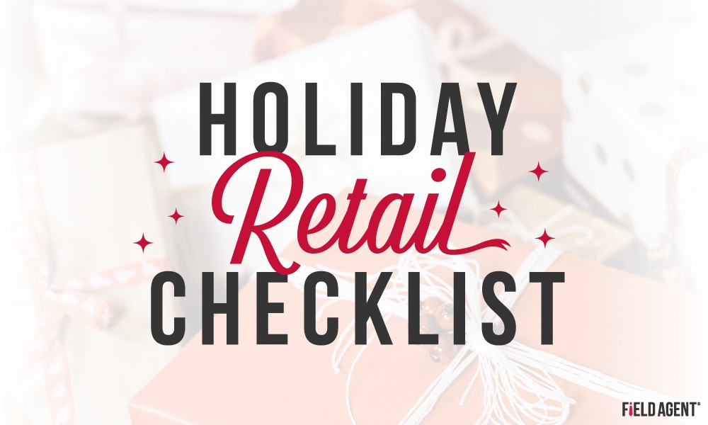 2018 Holiday Retail Checklist