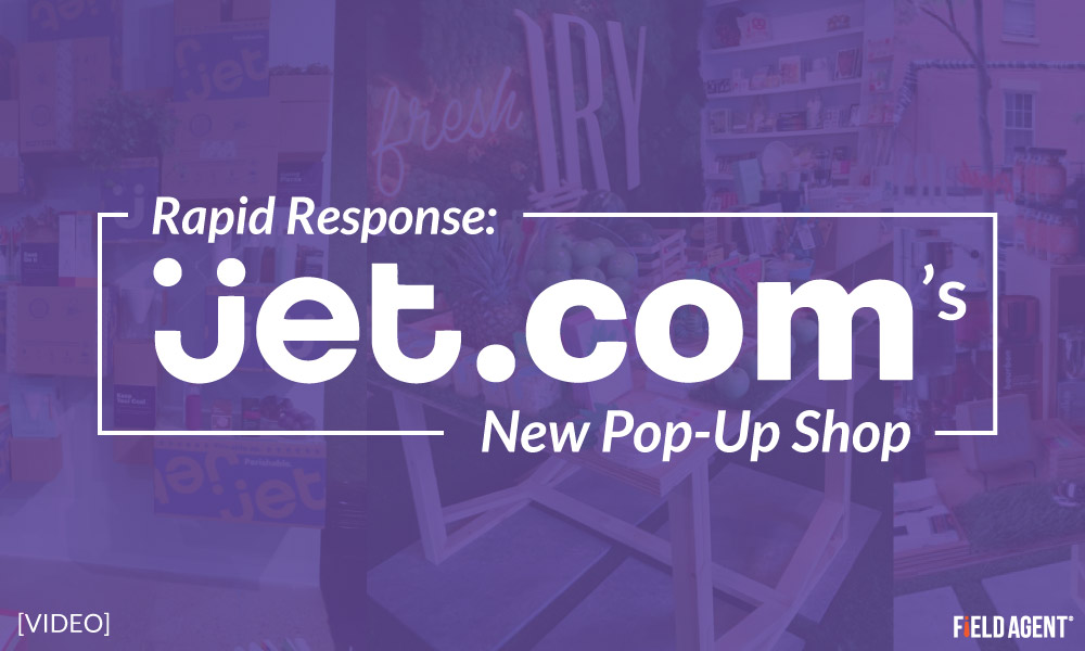 Rapid Response: Reaction to JET.com's New Pop-Up Shop [Video]