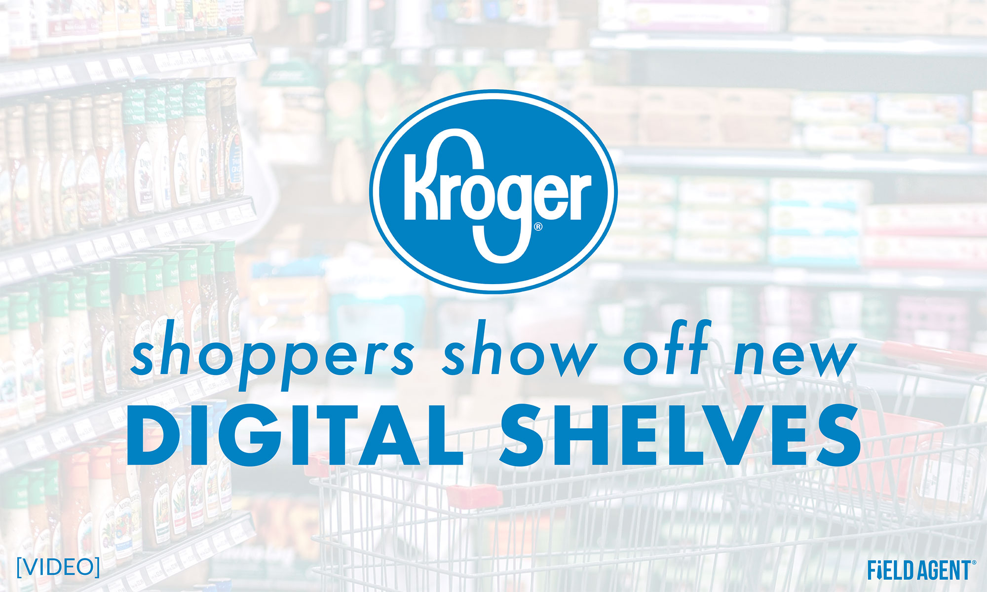 Instant Video: Shoppers Show-Off Kroger's New Digital Shelves