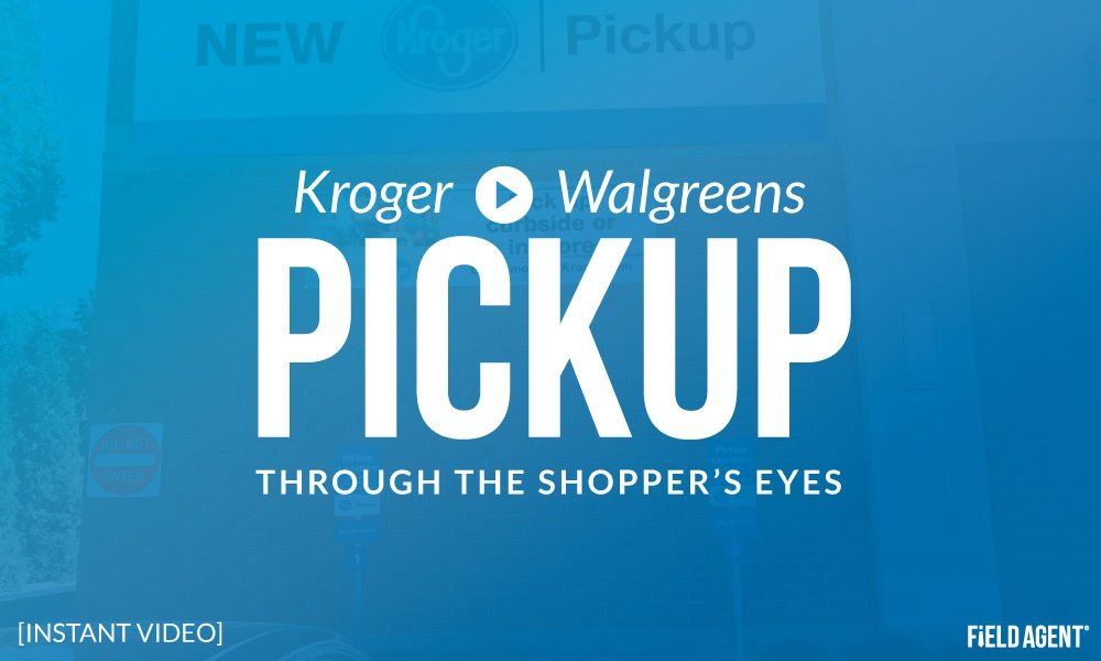 Instant Video: Kroger-Walgreens Pickup Through the Shopper's Eyes