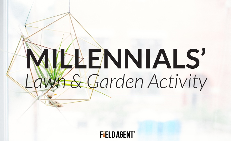 Millennials' Lawn & Garden Activity