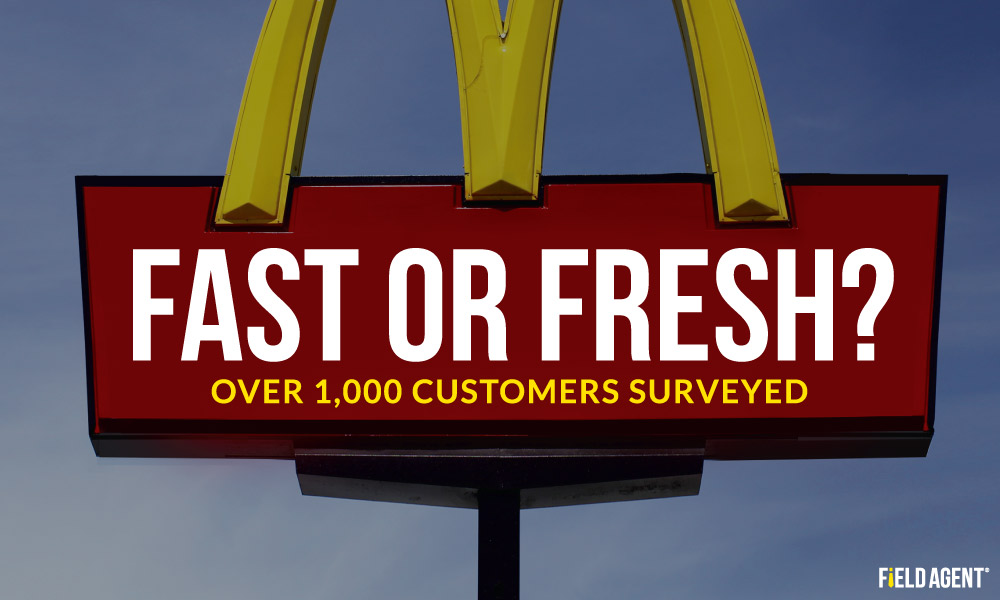 Fresh or Fast? Customers Surveyed about McDonald's New Fresh Strategy